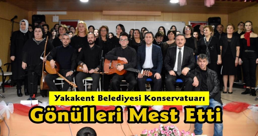 Yakakent Belediyesi Konservatuarı Korosundan Muhteşem Halk Müziği Konseri