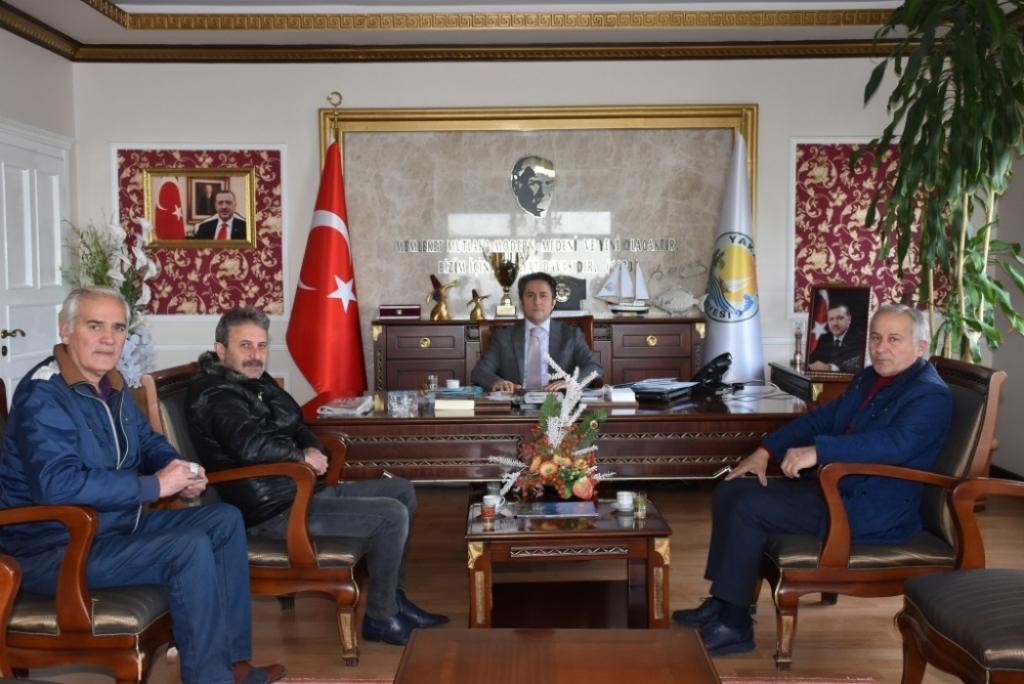 Yakakent Denizspor Kulüp Yönetimi Başkanımızı Ziyaret Etti