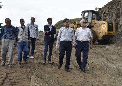 Mutaflı – Sarıgöl Mahallesi Grup Yolu Stabilize Yol Bakım-Onarım Çalışmaları