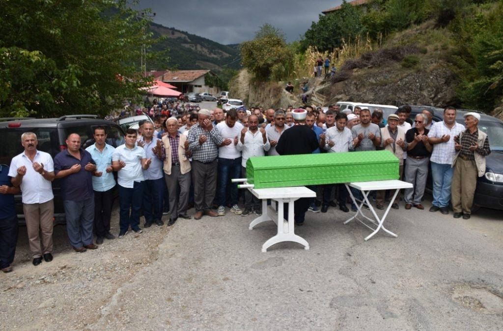 Behram SAATÇİ'nin Cenazesine Katıldık
