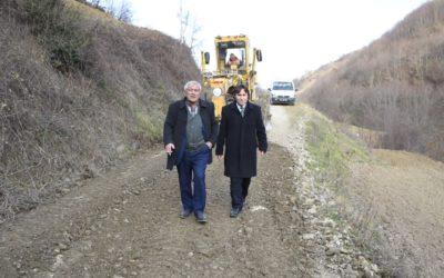 Kayalı Mahallesi Zincirli Mevkii Stabilize Yol Bakım-Onarım Çalışmaları
