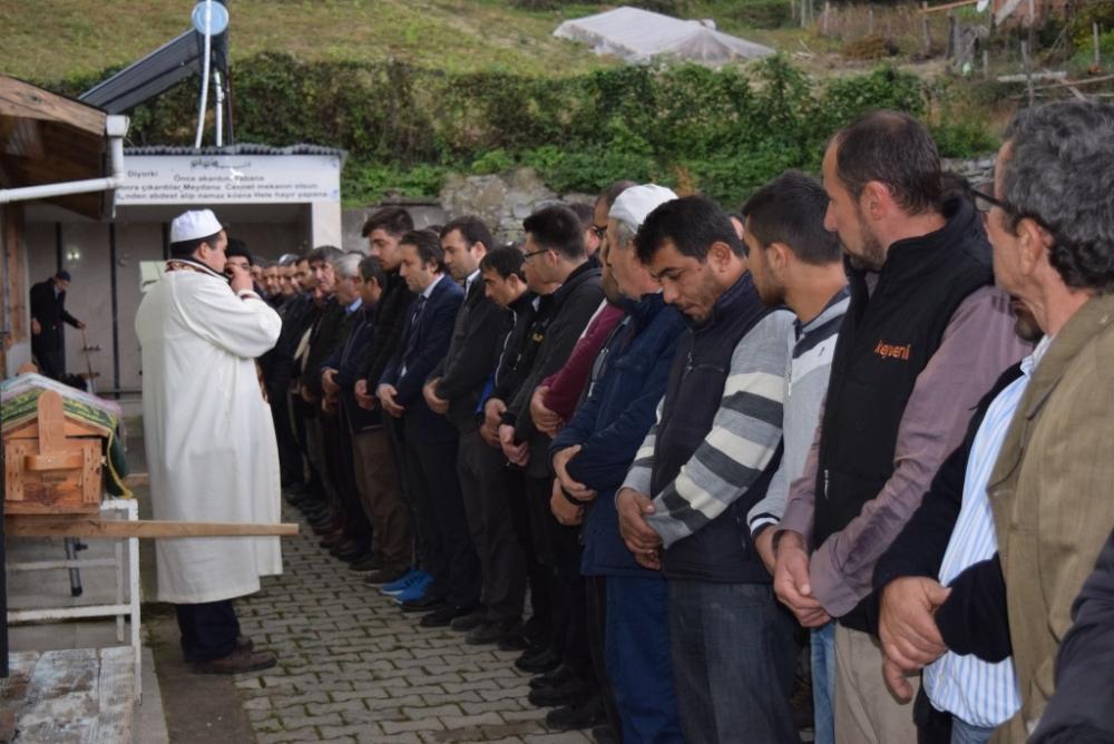 Fatma ÖZTÜRK'ün Cenazesine Katıldık