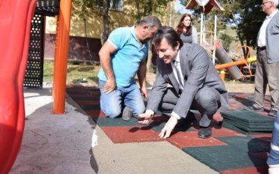Büyükkırık İlkokulu Oyun Parkı Alan Çalışmaları