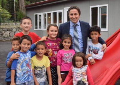 Vali Erdoğan Cebeci İlköğretim Okulu Oyun Parkı Çalışmaları