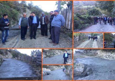 Karaaba Mahallesi Alageriş Beton Yol Çalışmaları
