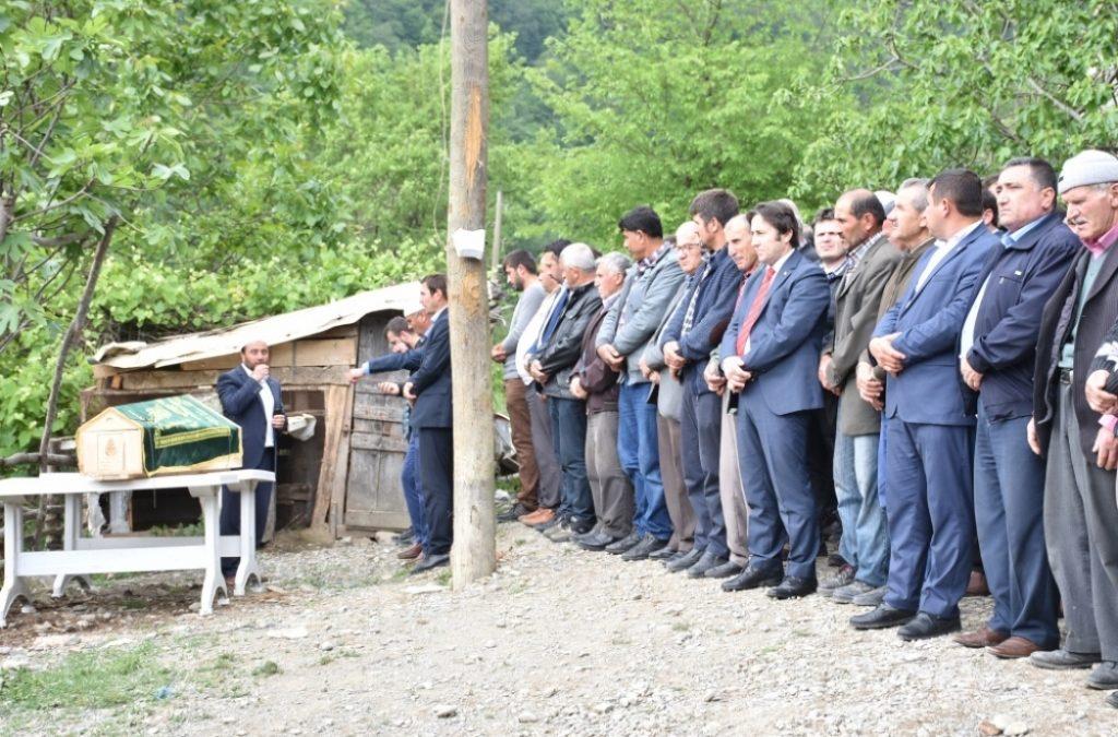 Ahmet ALTUN'un Cenazesine Katıldık
