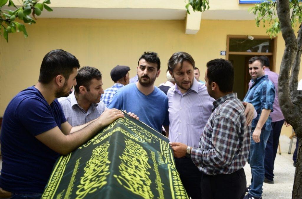 Mustafa SABAN'ın Cenazesine Katıldık