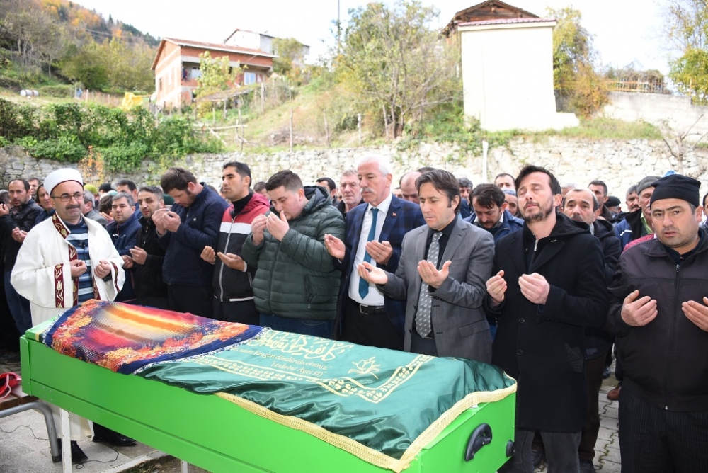 Şehri ÖZTÜRK'ün Cenazesine Katıldık