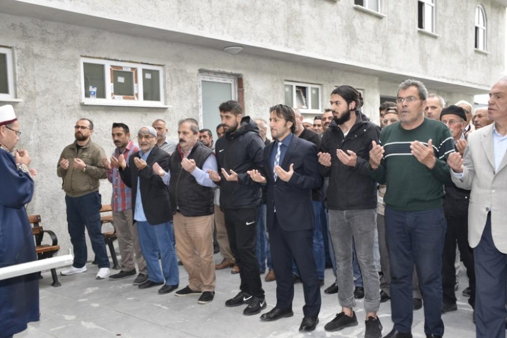 Ahmet UYSAL'ın Cenazesine Katıldık