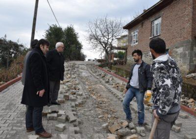 Kozköy Mahallesi Üst Yapı Çalışmalarımız Devam Ediyor