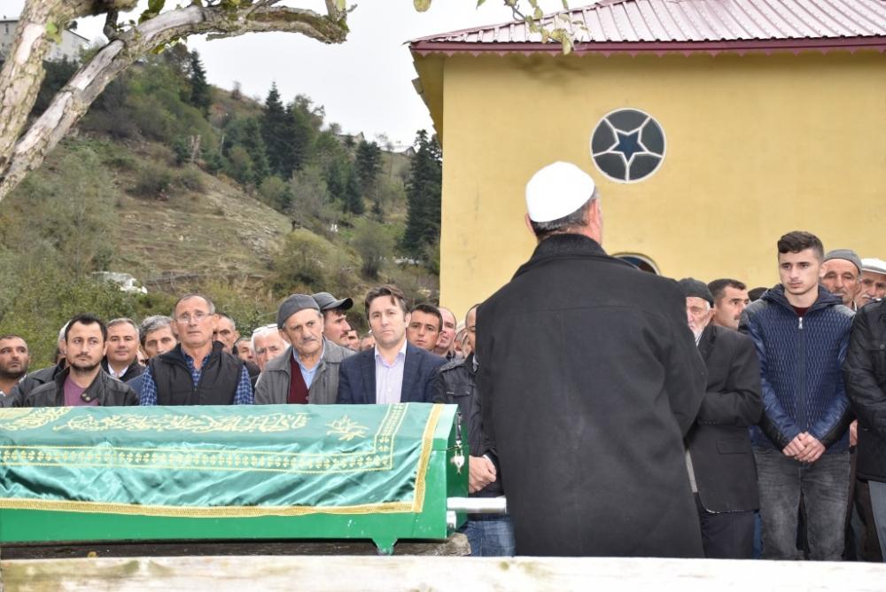 Satılmış AKBAŞ'ın Cenazesine Katıldık