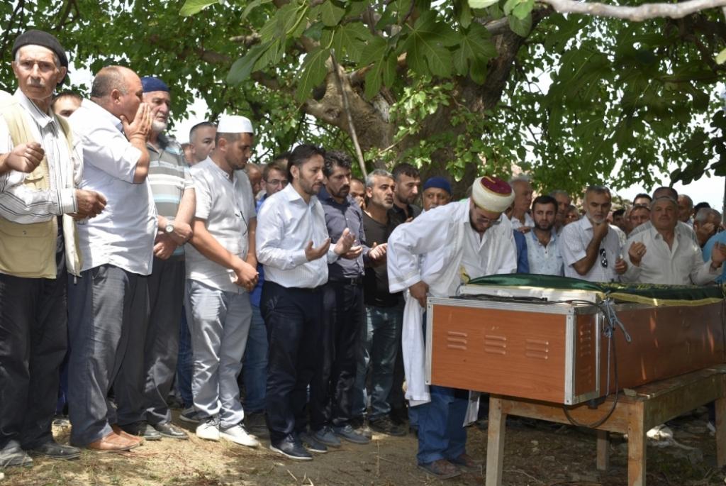 Erdoğan AYDIN'ın Cenazesine Katıldık