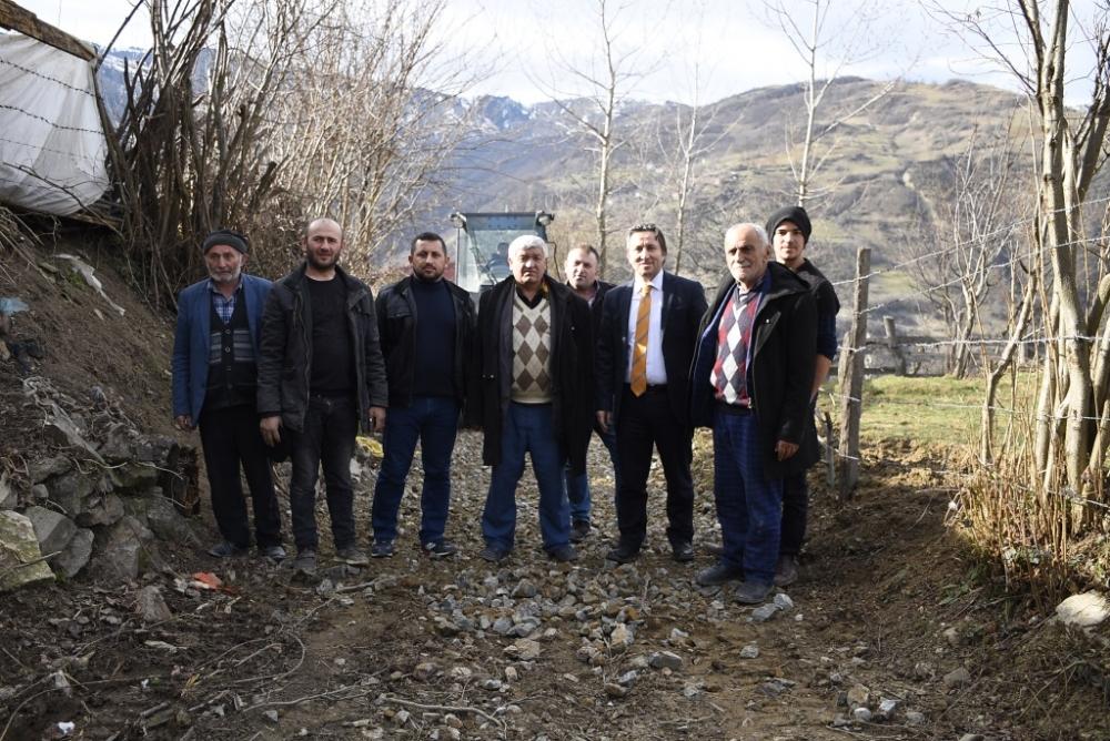Kuzuören Mahallesi Stabilize  Yol Bakım-Onarım Çalışmaları