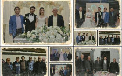 Başkanımız hafta sonu yapılan düğün ve nişan törenlerine katıldı.