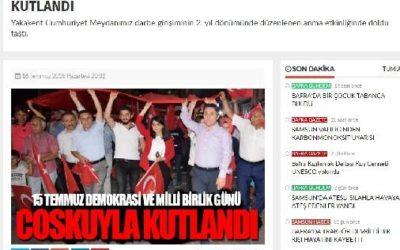 Bafra Gazete – 15 Temmuz Demokrasi ve Milli Birlik Günü Kutlandı