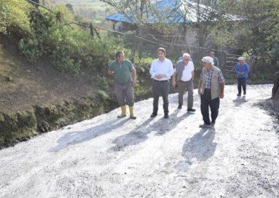 Karaaba, Uzunkız Mahallesi Beton Yol Çalışmaları