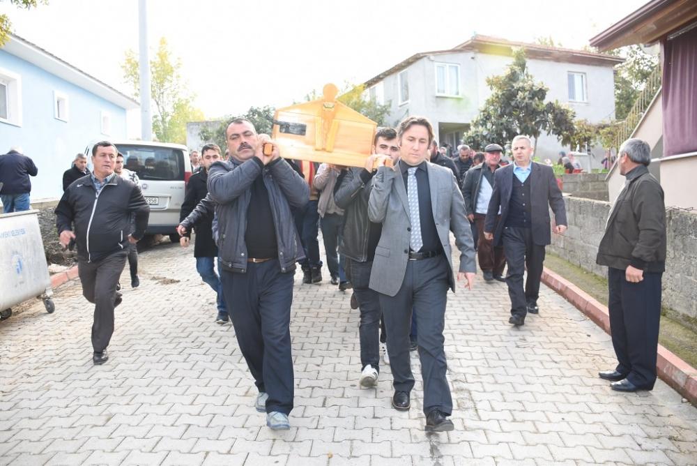 Mehmet ÇEVİK'in Cenazesine Katıldık