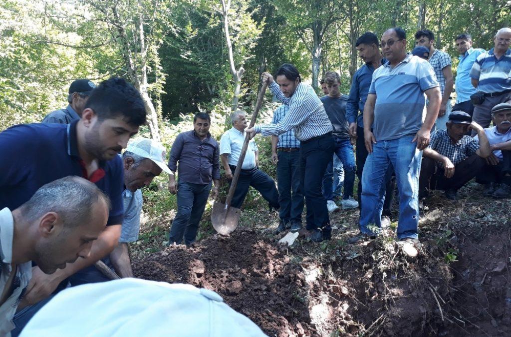 Ali AKARSU'nun Cenazesine Katıldık