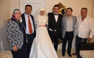 Filiz ve Samed AK Çiftinin Düğün Merasimine Katıldık