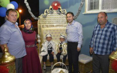 Yıldıray ve Turgay OKKA'nın Sünnet Düğününe Katıldık