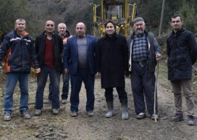 Yeşilköy Mahallesi Dumanlı Mevkii Stabilize Yol Bakım-Onarım Çalışmaları