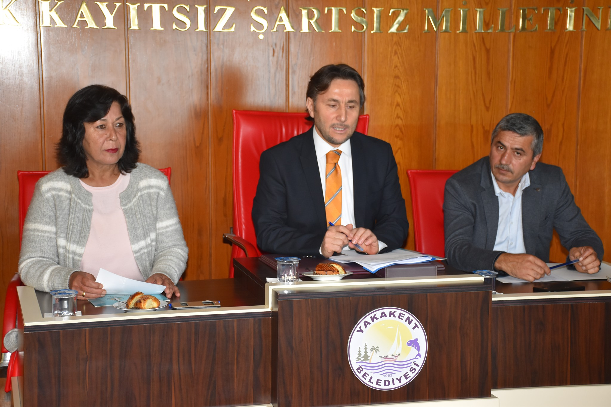 Yakakent Belediyesi 2019 Yılı Ekim Ayı Meclis Toplantısının 1. Oturumu Belediyemiz Meclis Toplantı Salonunda Gerçekleştirildi