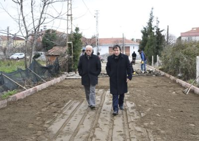 Merkez Mahallesi Bahçelievler Mevkii Üst Yapı Çalışmalarımız Devam Ediyor