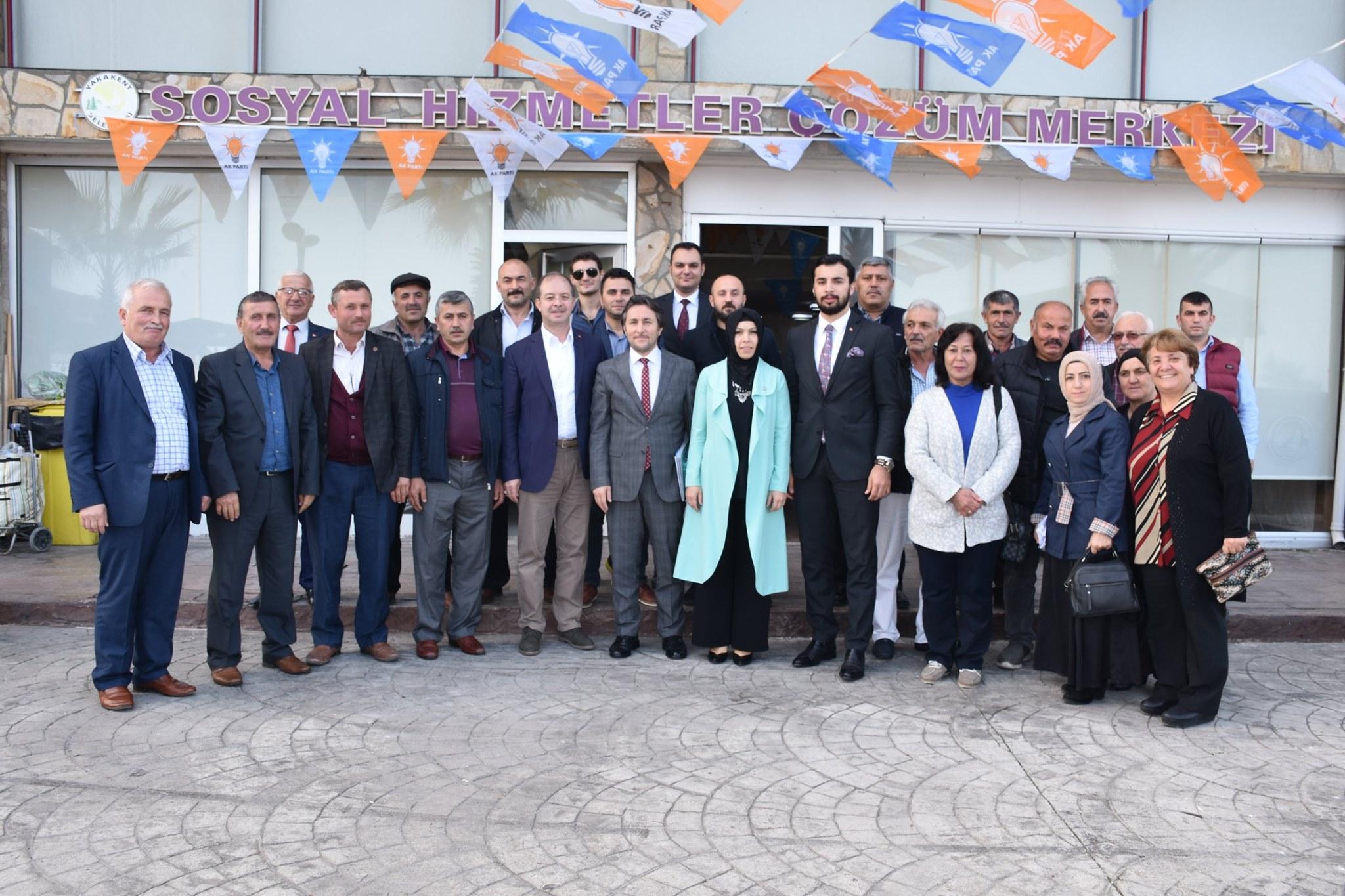 AK Parti Yakakent İlçe Başkanlığı Tarafından Düzenlenen 82. İlçe Danışma Meclisi Toplantısına Belediye Başkanımız Hüseyin Kıyma'da Katıldı.