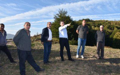 Yeşilköy – Yassıdağ grup yolu 1. Kat satıh kaplama asfalt çalışmaları tamamlandı.