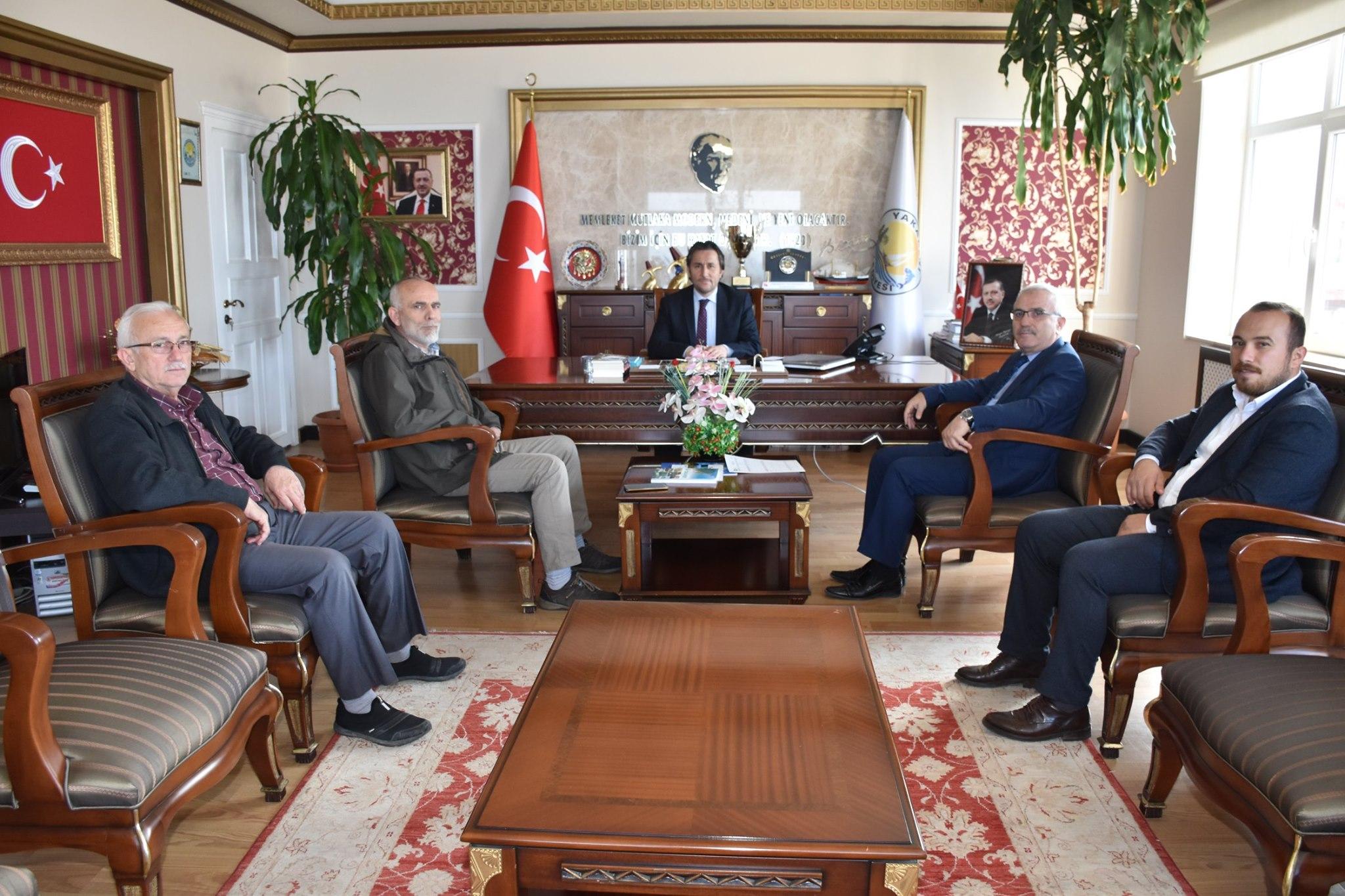 Belediye Başkanları  Birliği'nden Başkan Hüseyin Kıyma'ya Ziyaret