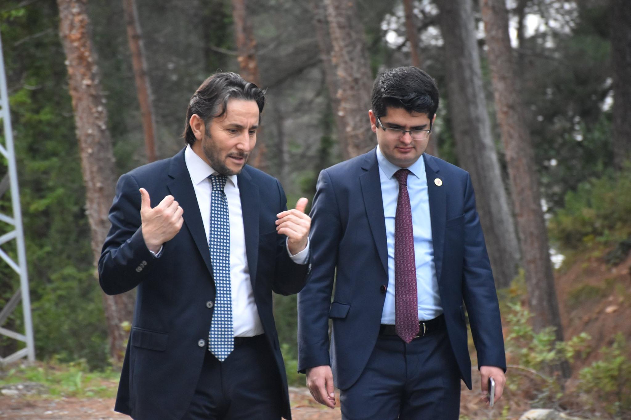 İlçe Kaymakamı Fatih Eroğlu ve Başkanımız Hüseyin Kıyma Çamgölü Mesire Alanında İncelemelerde Bulundu.
