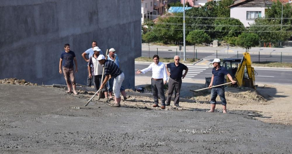 Merkez Mahallesi 129, 130, 131 ve 133. Sokak Beton Yol Çalışmaları