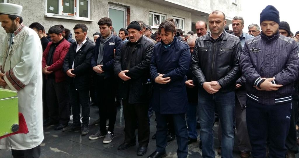 Osman CİVELEK'in Cenazesine Katıldık
