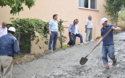 Merkez Mahallesi 133. ve 137. Sokak Beton Yol Çalışmaları
