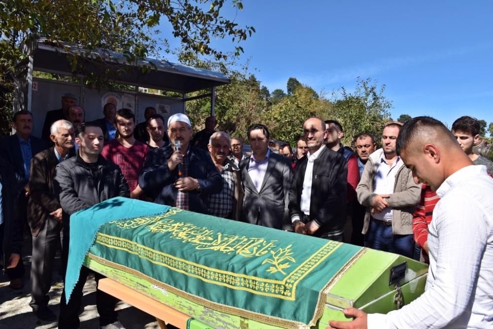 Sabriye AK'ın Cenazesine Katıldık