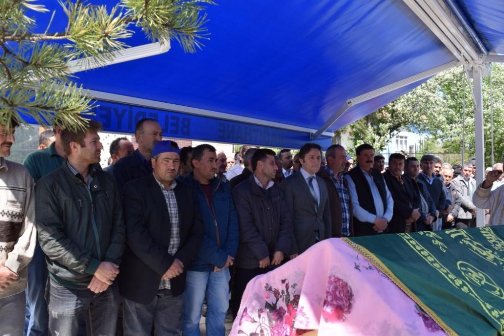 Emine ALBAYRAK'ın Cenazesine Katıldık
