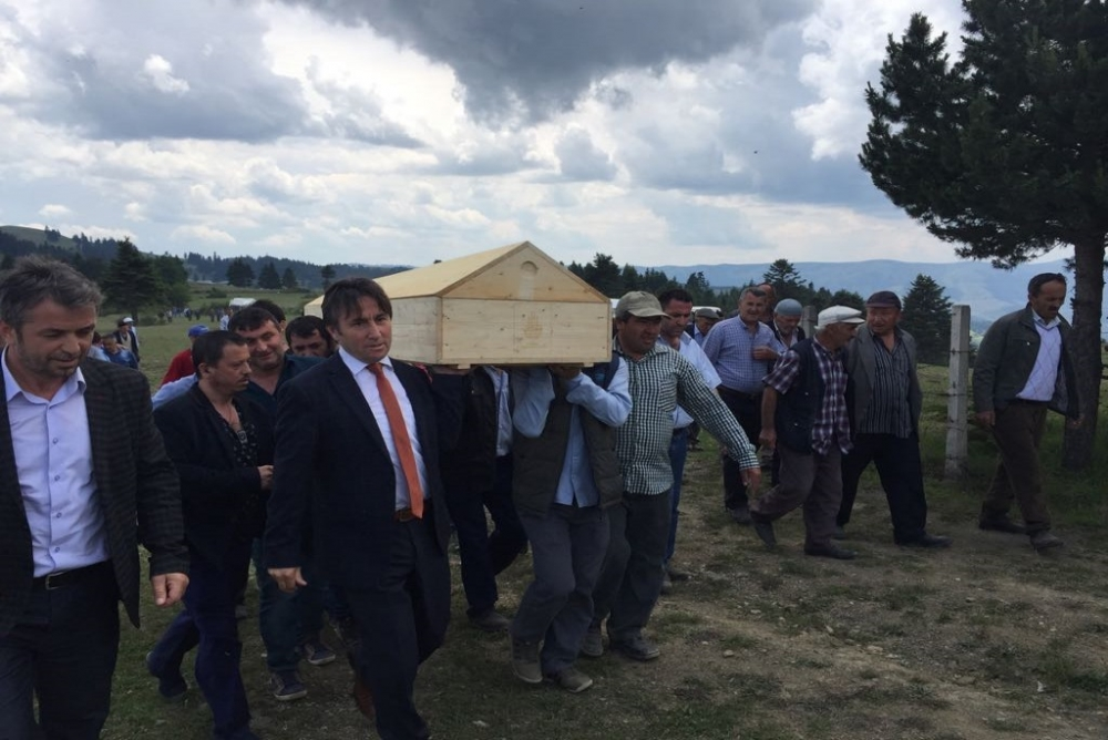 Metin BAŞ'ın Cenazesine Katıldık
