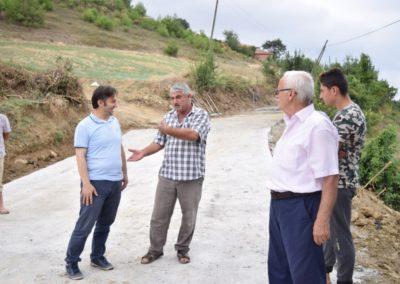 Merkez Mahallesi Ayvaz Mevkii Beton Yol Çalışmaları Tamamlandı