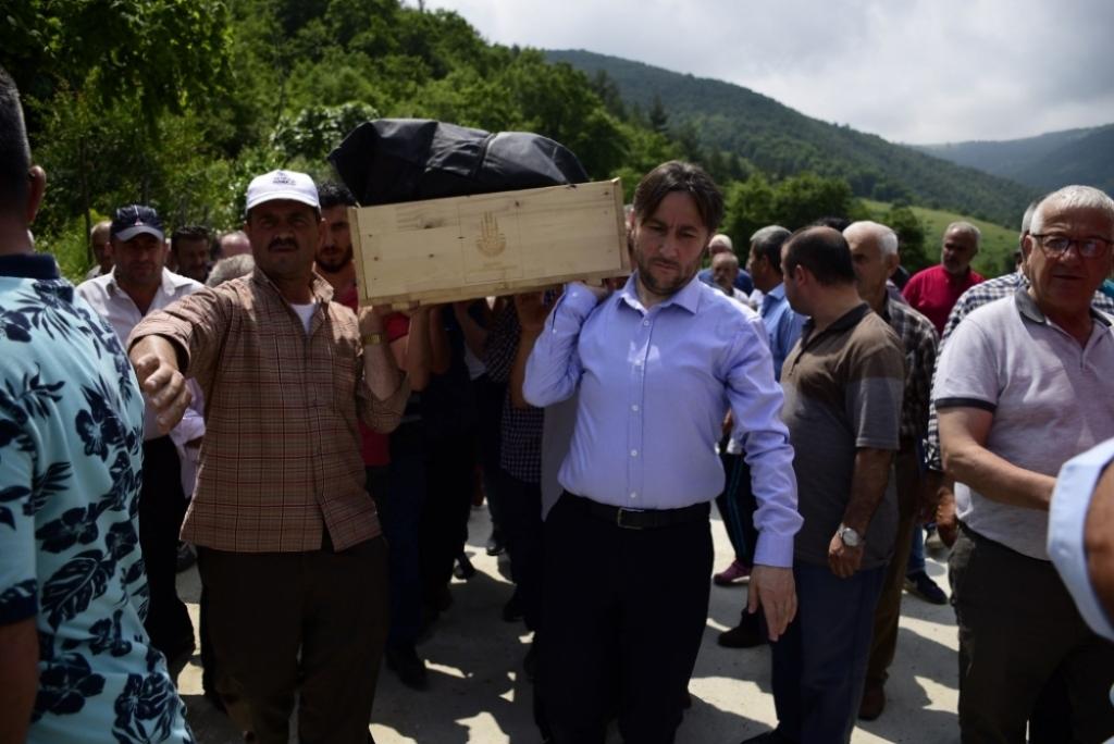 Hasan YAKUPOĞLU'nun Cenazesine Katıldık
