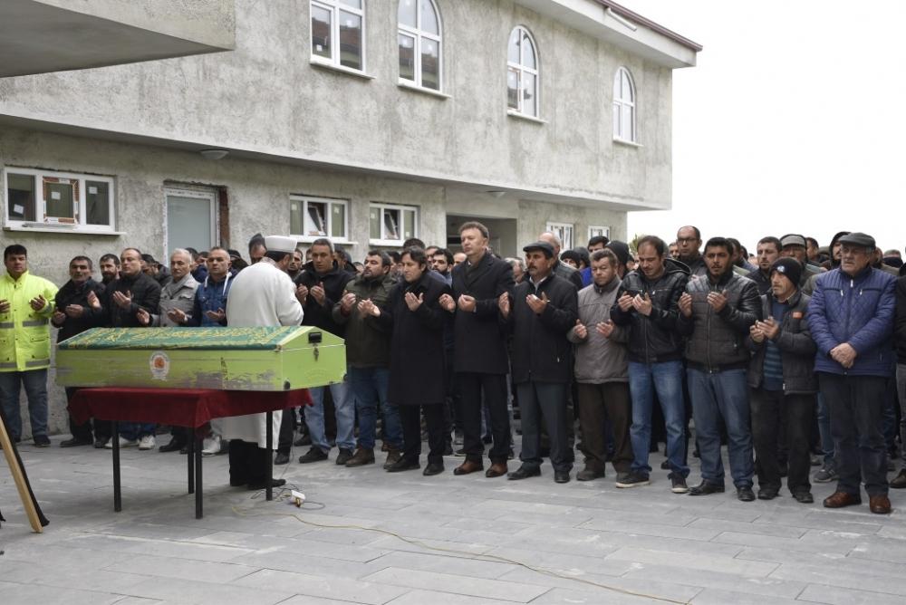 Hamide TAŞ'ın Cenazesine Katıldık
