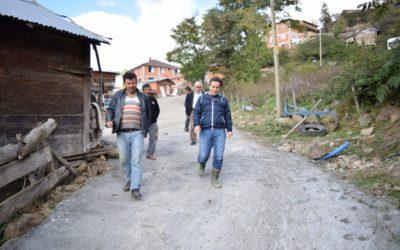 Büyükkırık Mahallesi Beton Yol Çalışmaları Tamamlandı