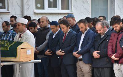 Hamza Karabulut'un Cenazesine Katıldık