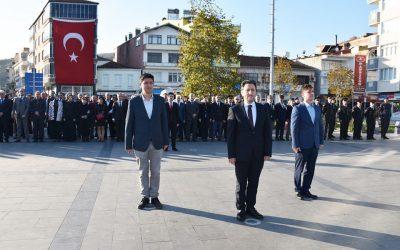 Cumhuriyetimizin Kurucusu Gazi Mustafa Kemal Atatürk'ün ebediyete intikalinin 81. yılında Yakakent'te anıldı.