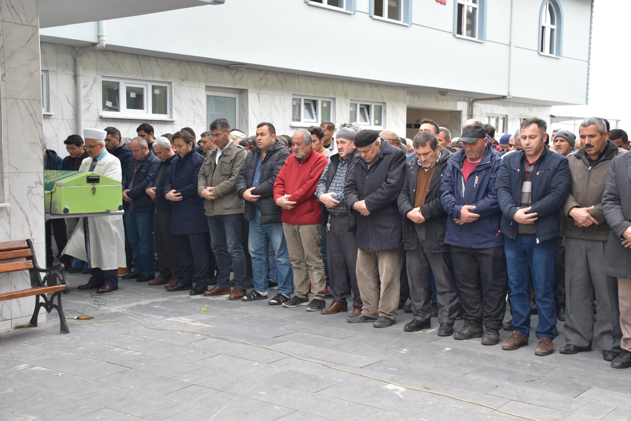 Şahin Evsen'in cenazesine katıldık.