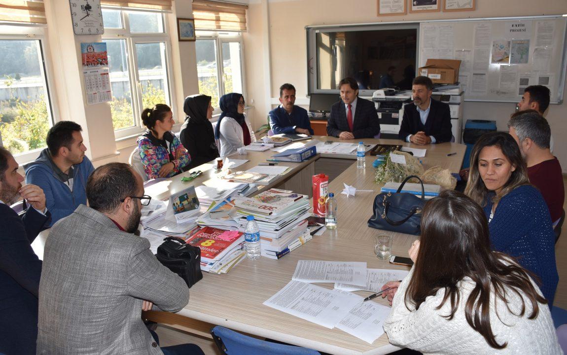 Belediye Başkanımız 24 Kasım Öğretmenler Günü Kapsamında Ziyaretlerde Bulundu.