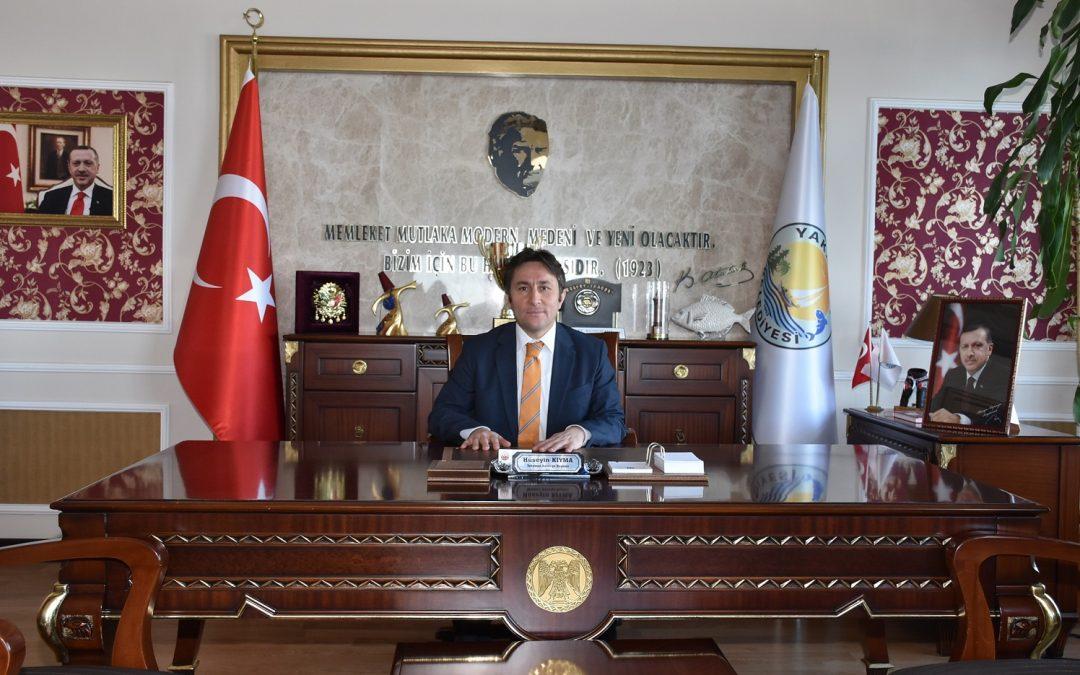 Yakakent Belediye Başkanı Hüseyin Kıyma, Mevlid Kandili dolayısıyla bir mesaj yayınladı.