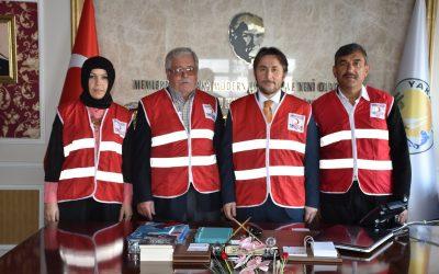 Kızılay Haftası kapsamında Türk Kızılay Yakakent Temsilciliği tarafından Başkanımız Hüseyin Kıyma'ya ziyarette bulunuldu.
