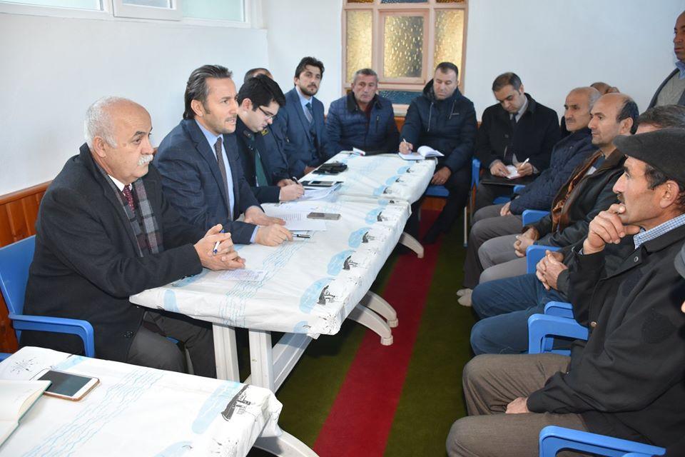 Yeşilköy Hıdır Mahallesinde Halk Bilgilendirme Toplantısı Yapıldı