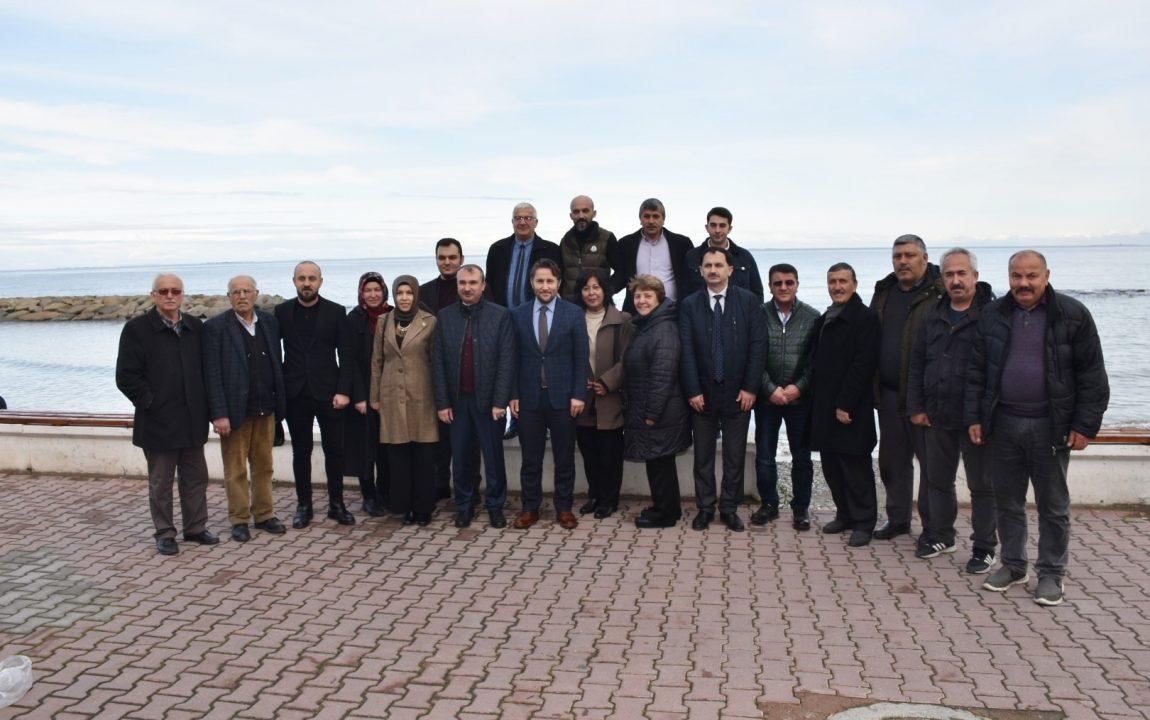 Belediye Başkanımız, AK Parti Yakakent İlçe Başkanlığı'nın Düzenlemiş Olduğu Programa Katıldı ve  Sonrasında Bir Dizi Ziyaretlerde Bulundu.