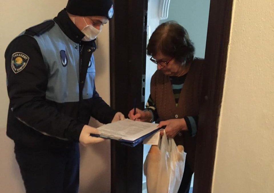 Belediyemizden Koronavirisü'e(Covıd-19)Karşı 65 Yaş ve Üstü Vatandaşlarımıza Alışveriş Desteği